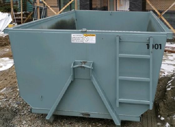 15 cubic yard bin