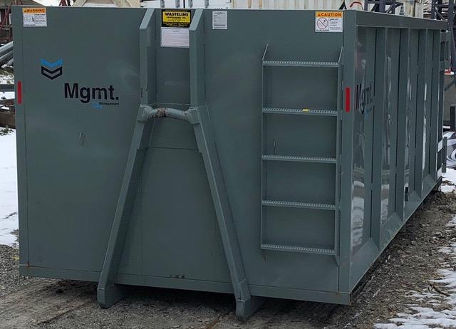 30 cubic yard bin