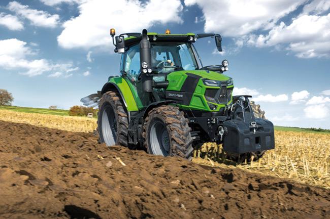 6140 TTV Deutz Fahr Tractor
