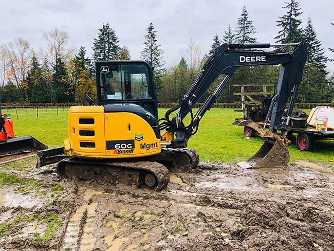 John Deere 60G Excavator