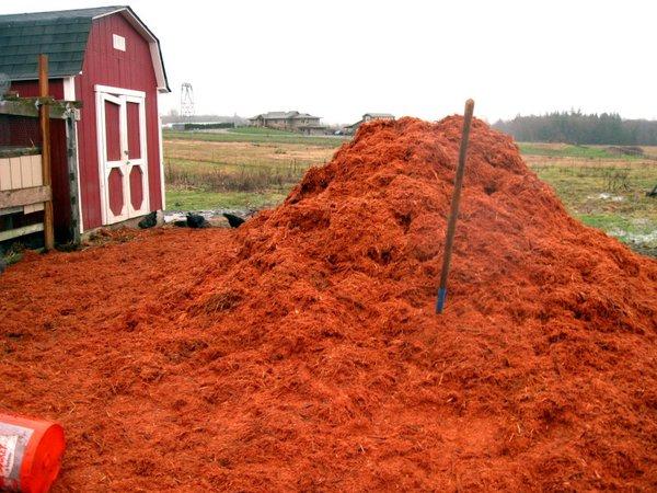 Hog Fuel Red Cedar