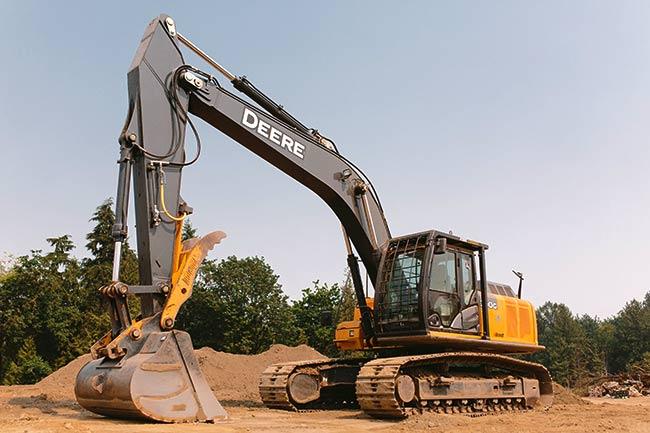 John Deere 290G Large Excavator